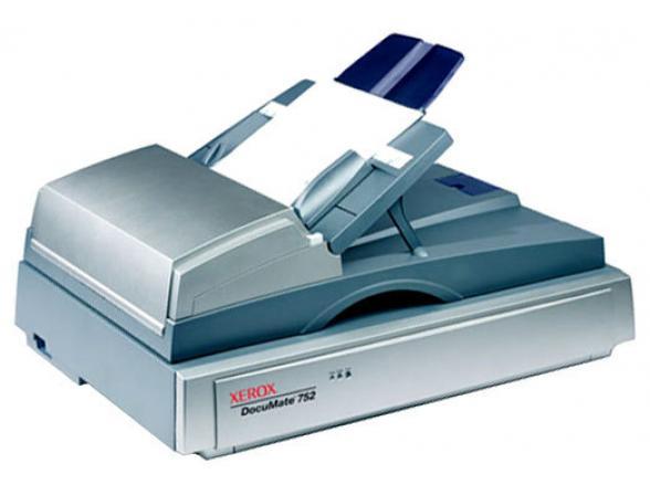 Сканер планшетный Xerox Documate 752 + ПО Kofax Basic