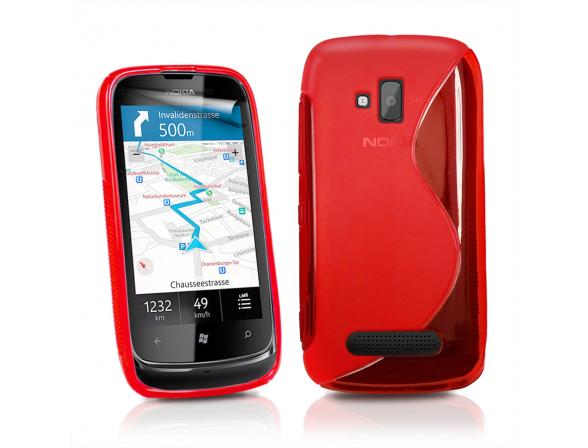 Смартфон Nokia Lumia 610 Red
