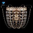 Бра хрустальная Eurosvet 3109/1 Gold / Transparent Crystal