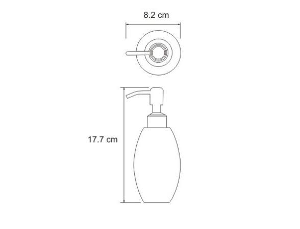 Дозатор для жидкого мыла WasserKRAFT Ruwer K-6799