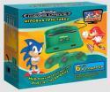 Игровая приставка Mega Drive 6 встроенных игр (зеленая) (прист., 2 дж., AV-каб., адапт.)