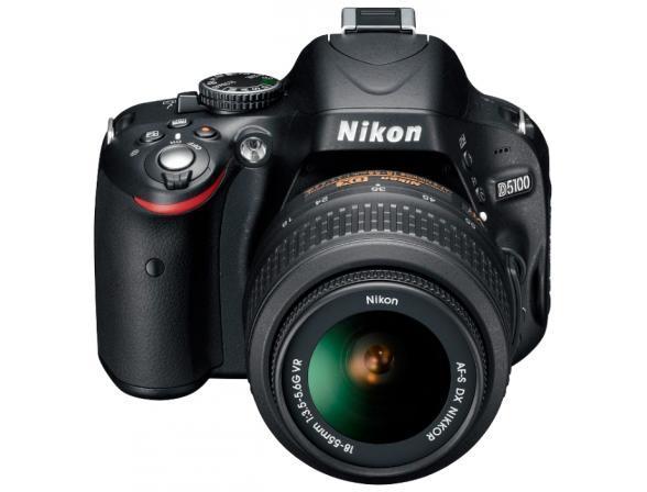 Зеркальный фотоаппарат Nikon D5100 Kit AF-S 18-55 DX VR*& 55-200 VR