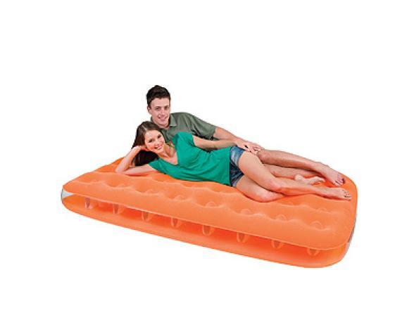 Кровать надувная Bestway Fashion Flocked Air Bed Twin 67388