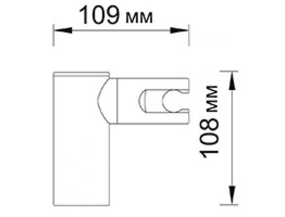 Настенный держатель лейки WasserKRAFT А008
