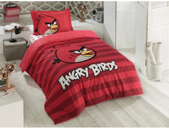 Постельное белье детское LUOCA PATISCA Angry Birds