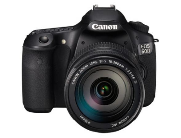 Зеркальный фотоаппарат Canon EOS 60D kit 18-200 IS