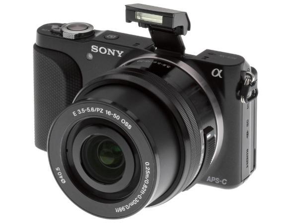 Цифровой фотоаппарат Sony Alpha NEX-3NY kit 16-50 + 55-210 black
