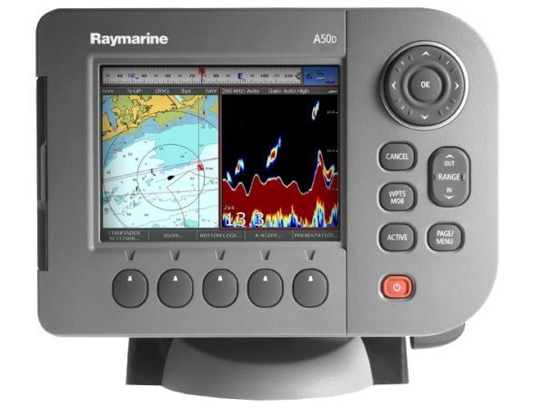 Эхолот/Картплоттер Raymarine A50D