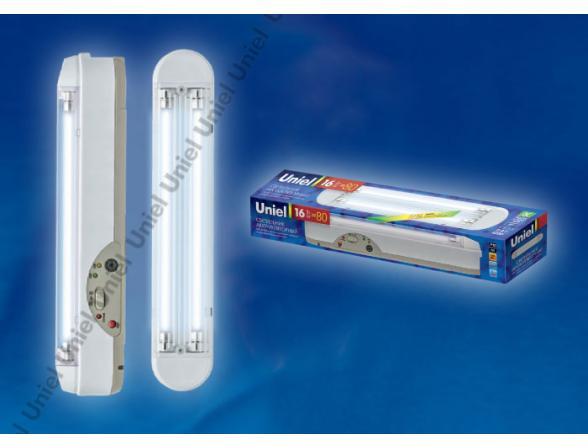 Светильник аккумуляторный Uniel URL-04-DC-T5-8W2-3,5HRS-WH