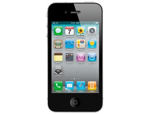 Коммуникатор Apple iPhone 4 8Gb Black