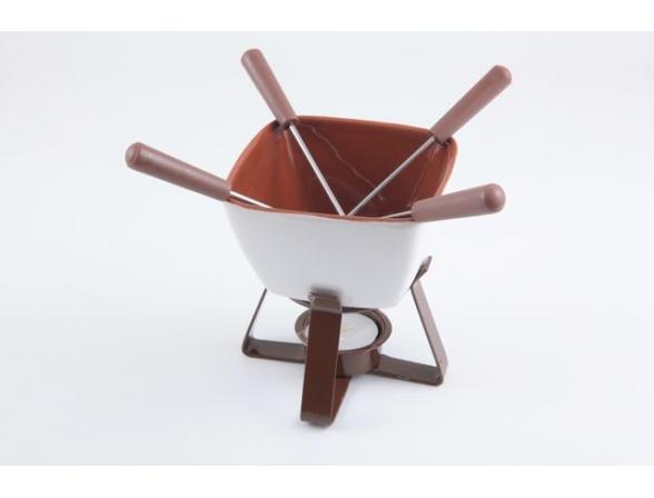 Набор для шоколадного фондю Fissman 6301 VANILLA 6 пр.