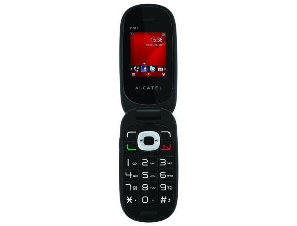 Телефон Alcatel OT665 Fuchsia