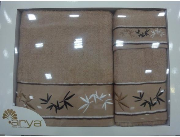 Комплект полотенец ARYA Бамбук