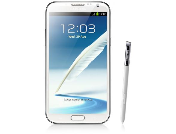 Смартфон Samsung Galaxy Note II 32Gb Marble WhiteGT-N7100