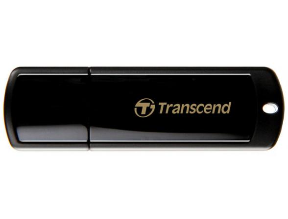 USB Flash Drive Transcend 8Gb JetFlash 350, Черный