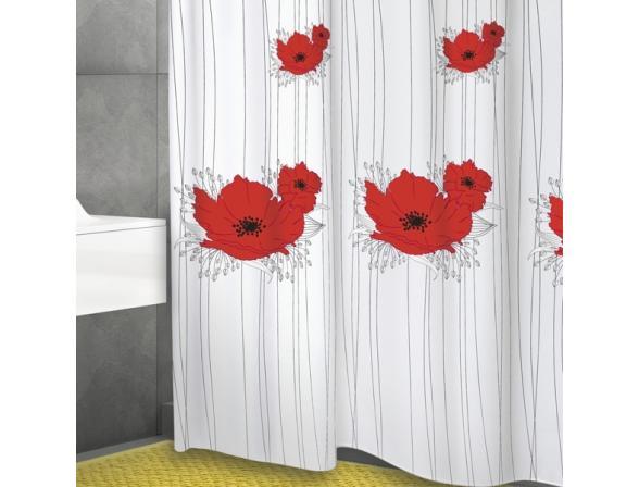 Штора для ванной Bacchetta 180х200 Papavero