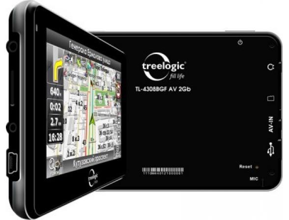 Навигатор Treelogic TL-4308BGF AV 4GB