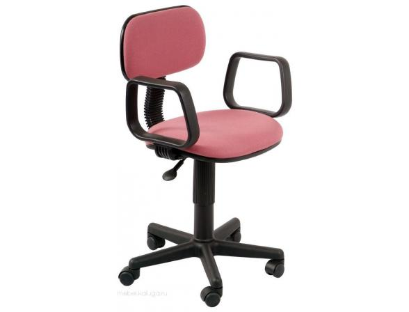 Кресло с подлокотниками BURO Ch-201AXN/Pink