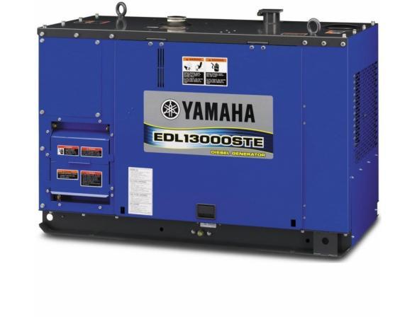 Бензогенератор Yamaha EDL13000STE