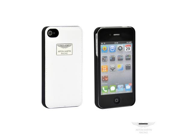 Чехол Aston Martin для iPhone black white