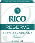 Трости для саксофона альт RICO RJR1020 Reserve Classic №2, 10 шт/упак