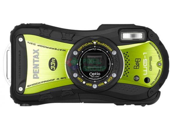 Цифровой фотоаппарат Pentax Optio WG-1 GPS