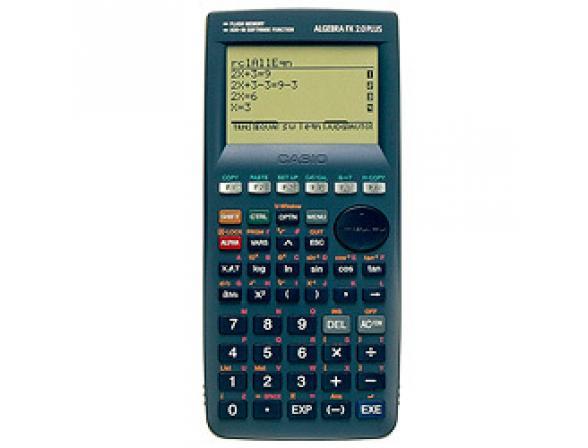 Калькулятор графический Casio casALGEFX2.0PLS