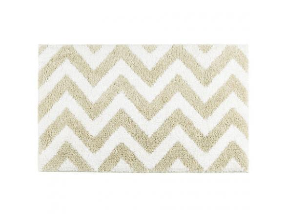 Коврик KASSATEX Linen Chevron White/ 51х81