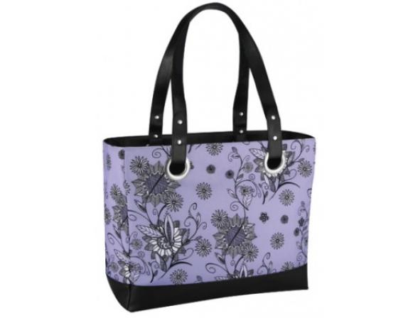 Сумка-холодильник Thermos Raya24 Can tote-purple flower
