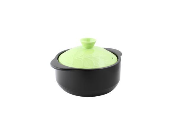 Кастрюля керамическая HANS & GRETCHEN 2,2л (20см) 12NF-G20 BAUM Green