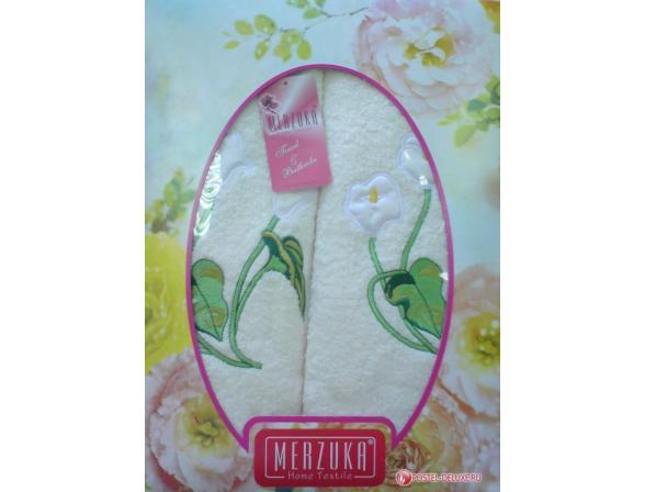 Комплект полотенец ARYA Oran Merzuka  2 пр. Lily
