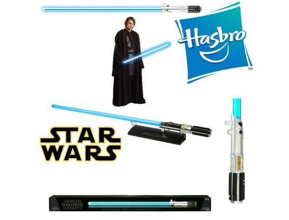 Световой меч Hasbro Anakin Skywalker Force FX lightsaber