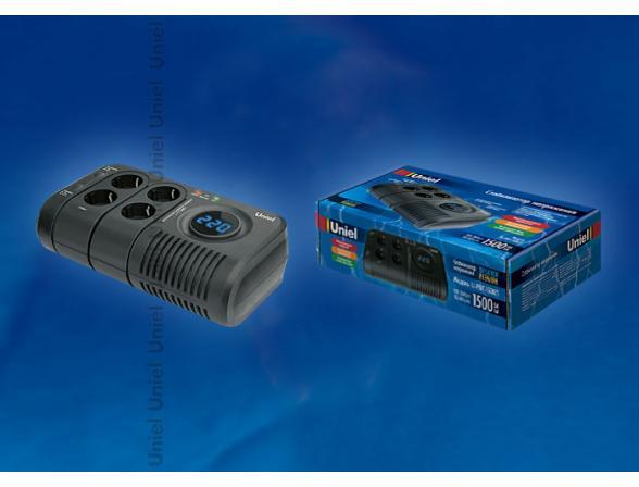 Стабилизатор настольный Uniel Desktop U-PDT-1500/1