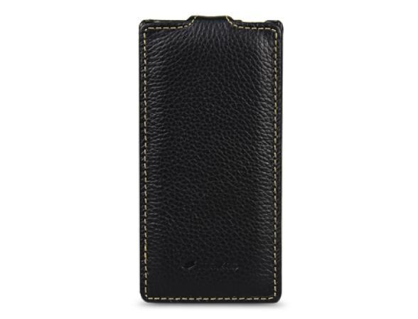 Чехол Melkco Premium Leather Case for Sony Xperia P(LT22i) - Jacka Type (Dark Blue LC)