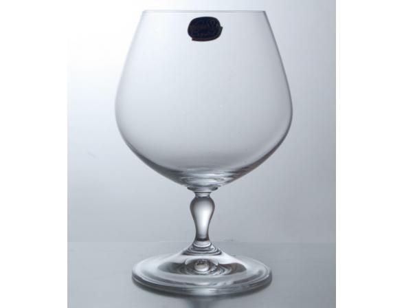 Набор бокалов для коньяка Bohemia Crystall Кармен 400