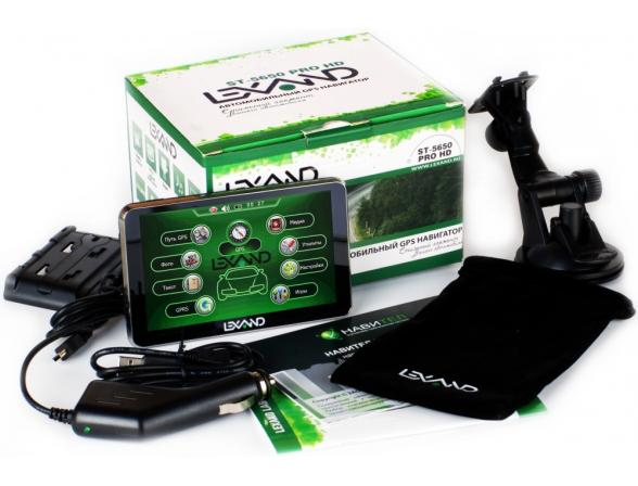 GPS-навигатор Lexand ST-5350 Touch
