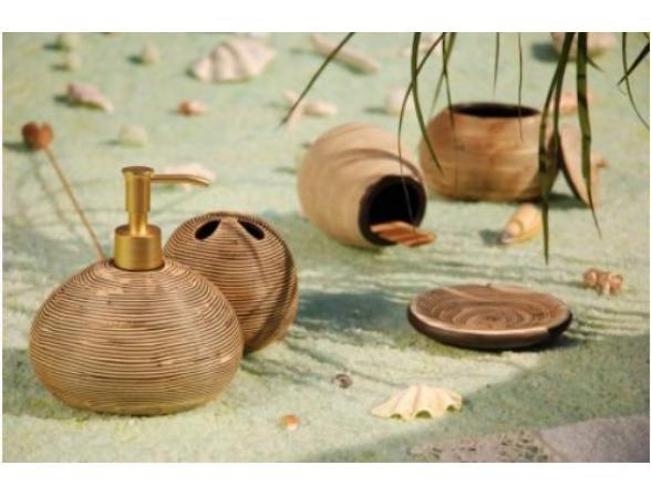 Набор для ванной Centrplus ZEBRA, 6 предметов