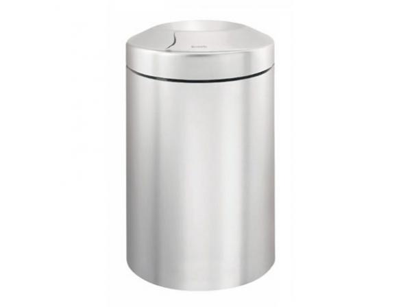 Несгораемая корзина для бумаг Brabantia 378904 матовый стальной