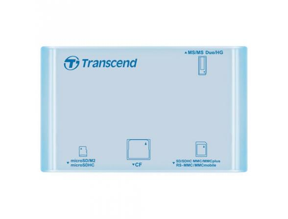 Ридер Transcend All-in-1 Multi Card Reader TS-RDP8A