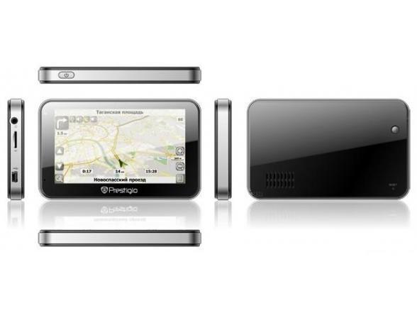 GPS-навигатор Prestigio GeoVision 4500BTFM