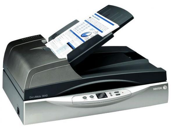 Сканер планшетный Xerox DocuMate 3640
