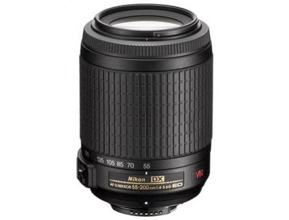 Объектив Nikon 55-200mm f/4-5.6G IF-ED AF-S DX VR Zoom-Nikkor