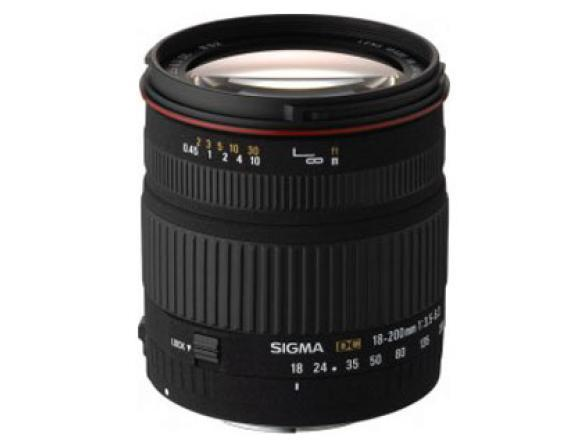 Объектив _Sigma AF 18-200mm f/3.5-6.3 DC Nikon F