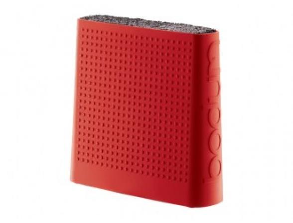 Подставка для ножей BODUM Bistro красная