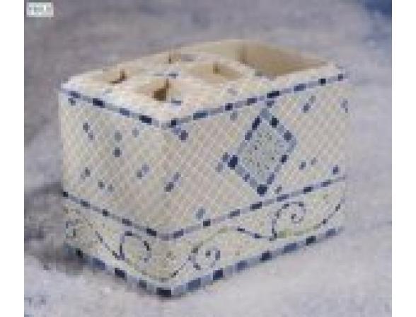 Набор для ванной Centrplus LIVORNO BLUE, 5 предметов