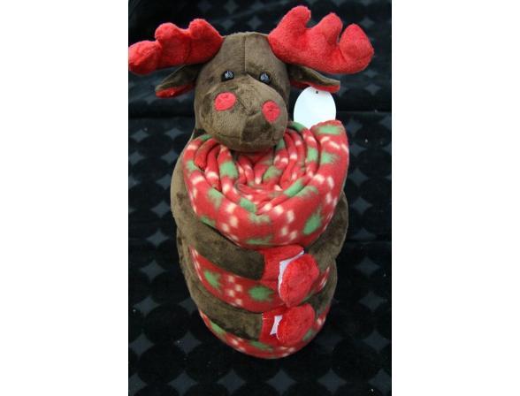 Плед с игрушками ARYA Reindeer Small