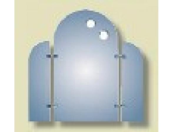 Зеркало с подсветкой Imagolux Олл эраунд, 65x63см (648105)