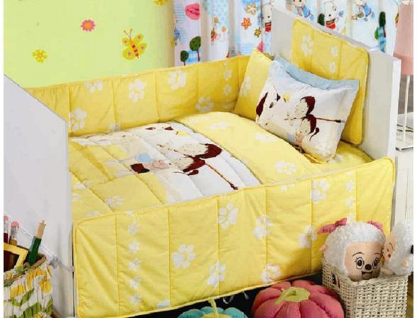 Комплект детского постельного белья с одеялом и юбкой ARYA BROTHER SISTER