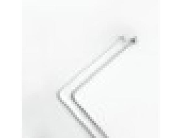 Штанга угловая Bacchetta 80Х170 белая