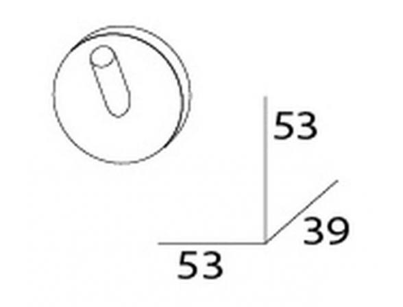 Крючок ARTWELLE HARMONIA HAR 001